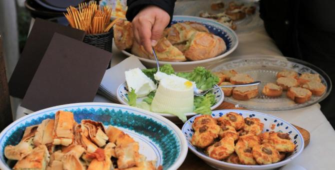 degustazione prodotti tipici ciociari
